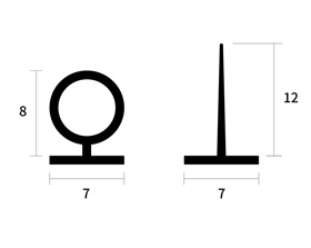 TPE가스켓(O형,T형) 썸네일 이미지